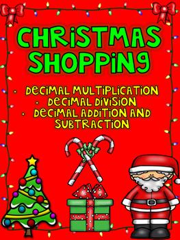 Christmas Shopping- Decimal Operations