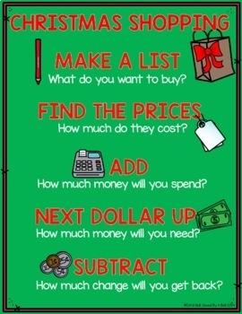 Christmas Shopping Freebie