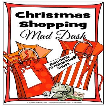 Christmas Shopping Mad Dash (Christmas Activity)
