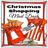 Christmas Shopping Mad Dash (Christmas Activity)
