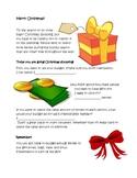 Christmas Shopping Math Packet