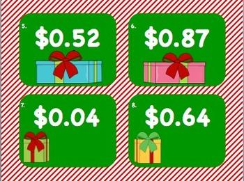 Christmas Shopping (Money - Coins)
