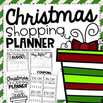 Christmas Shopping Planner {A Project Based Learning Activity}