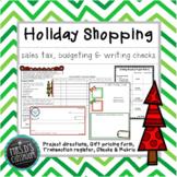 Holiday Shopping Project - sales tax, writing checks & balancing budget