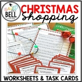 Christmas Addition Subtraction and Next Dollar Up Worksheets and Task Cards