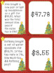 Christmas Shopping with Sales Tax Matching Card Activity -