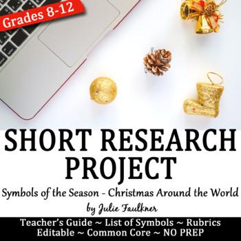 Christmas Short Research Project: Symbols of the Season Media Presentation