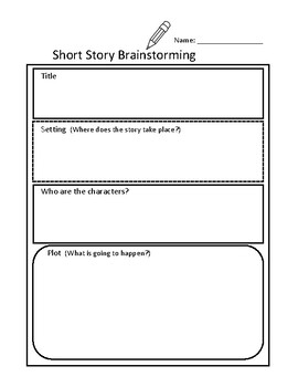 Christmas Short Story Writing Assignment - Assignment, Planning Pages, & Rubric