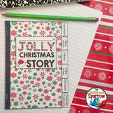 Christmas Short Story Writing INTERACTIVE NOTEBOOK Flip Book