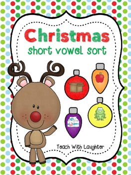 Christmas Short Vowel Sorting Station