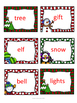 Christmas Short and Long Vowel Sort