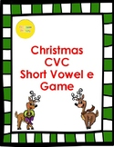 Christmas Short e CVC Game