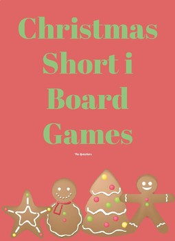 Christmas Short i Board Games