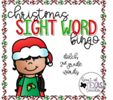 Christmas Sight Word Bingo {Dolch 2nd Grade}
