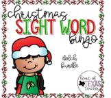 Christmas Sight Word Bingo {Dolch BUNDLE}
