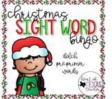 Christmas Sight Word Bingo {Dolch Pre-Primer}