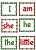 Christmas Sight Word Board Games