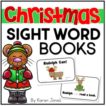 photograph about Printable Sight Word Books identified as Xmas Sight Phrase Publications Xmas Actions