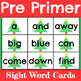 Christmas Sight Word Cards for All 220 Sight Words.