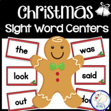 Christmas Sight Word Centers