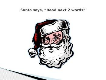 Christmas Sight Word Game