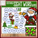 Christmas Sight Word Games