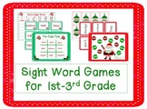 Christmas Sight Word Games For 1st-3rd Grade