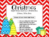 Christmas Sight Word Games & Printables: Dolch 1st