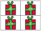 Christmas Sight Word Match: Dolch Kindergarten Sight Words