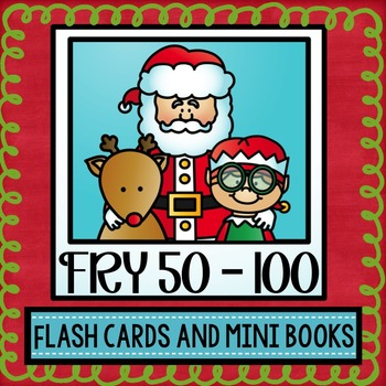 Christmas Sight Word Mini Books and Flash Cards