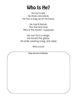 Christmas Sight Word Poem