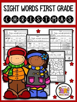 Christmas Sight Word Practice (First Grade)