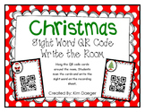Christmas Sight Word QR Codes