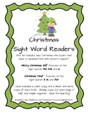 Christmas Sight Word Readers