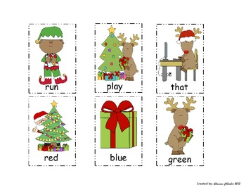 Christmas Sight Word Review