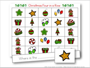 Christmas Sight Word Sentence Game
