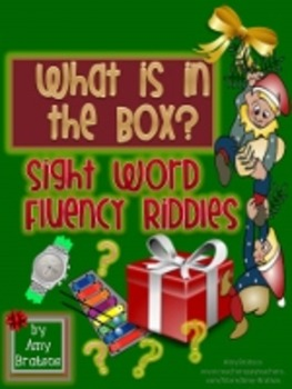 Christmas Sight Word and Fluency Riddles-What is in the Box?