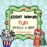 Christmas Sight Words - Activities