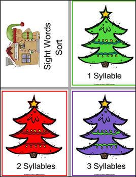 Christmas Sight Words BUNDLE #2- Interactive!