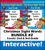 Christmas Sight Words BUNDLE #2- Interactive!