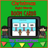 Christmas Sight Words - Boom Cards