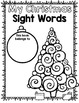 Christmas Sight Words {First Grade} Print and Go