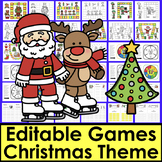 Christmas Activities Sight Words Game Boards - First 102 Dolch