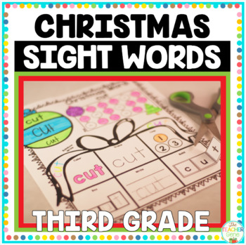 Christmas Sight Words {Third Grade} Print and Go