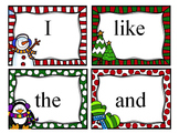 Christmas Sight Words for Kindergarten - Journeys - Write/