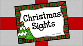 Christmas Sights - A Book for Emerging Readers