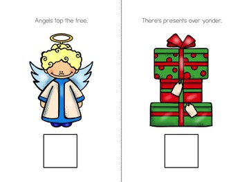 Christmas Sights Interactive Vocabulary Book