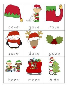 Christmas Silent E Cards