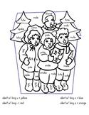 Christmas Silent E Long Vowel Word Sort