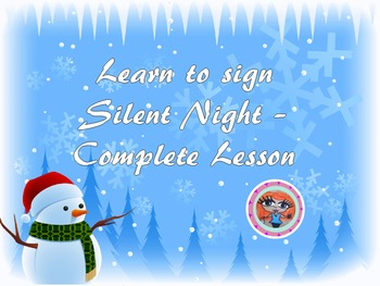 Christmas Silent Night Lesson